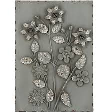 on black metal flower wall art uk with contemporary green flowers metal wall art