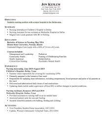Pediatric Nursing Resume Examples - http://exampleresumecv.org/pediatric- nursing
