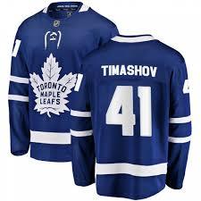 Dmytro Timashov Toronto Maple Leafs Men's Fanatics Branded Blue Breakaway  Home Jersey