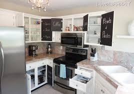 livelovediy creative ways update your kitchen using paint transform cupboards painting cabinets winter fog rustoleum cabinet