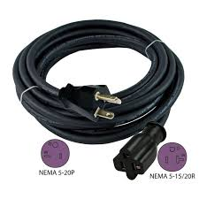 1000 ideas about 20 amp extension cord installing 12 3 20 amp nema 5 20 anti cold weather