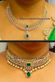 diamond necklaces on