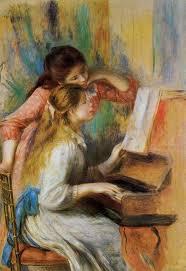 girls at the piano 1892 musee dorsay paris