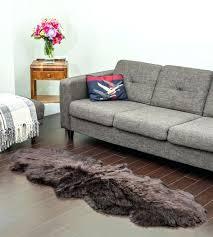 double sheepskin rug brown a larger photo email friend quad