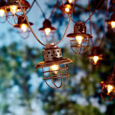 Decorative Lights Walmart Better Homes Gardens Outdoor Vintage Cage Lantern String Lights