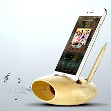 wood cell phone amplifier phone charging station cell phone charging dock natural wood docking station stand