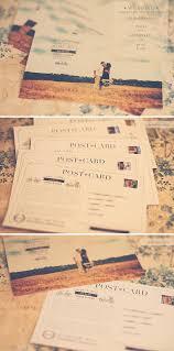 Wedding Invitations Postcard Invitation Postcard Style For Bride And