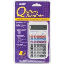 Amazon.com: Calculated Industries Quilter's FabriCalc Quilt Design ... & Amazon.com: Calculated Industries Quilter's FabriCalc Quilt Design and  Fabric Estimating Calculator: Home Improvement Adamdwight.com