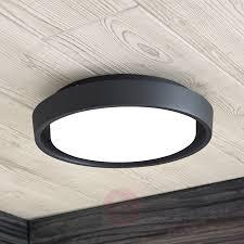 Led Buitenplafondlamp Birta Rond 27 Cm
