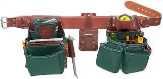 occidental leather oxylights framer tool belt set green