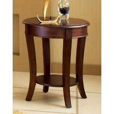 Shop Copper Grove Teton Cherry Finished End Table On Sale Free