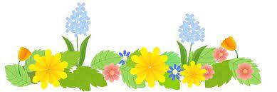 春の花畑 春のイラスト素材 無料テンプレート