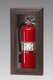 Fire Equipment Cabinet Triangle Fire Inc Fire Extinguisher Cabinets Larsens Model