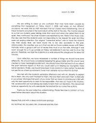 letter from teacher to parents sample of apology letter to parents valid apology letter teacher for