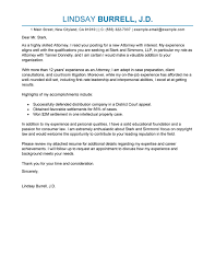 best attorney cover letter examples livecareer attorney advice
