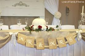 decoration: Gorgeous Diy Table Decorations Idea For Wedding Table Created  With Beautiful White And Red