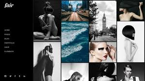build your make up portfolio web site with this magnificent wordpress theme fair is especially designed for creative businesses and individuals