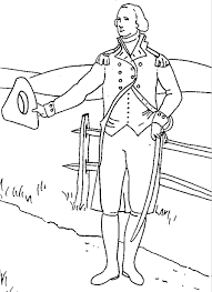 Small Picture US President George Washington Coloring Page Coloring Book