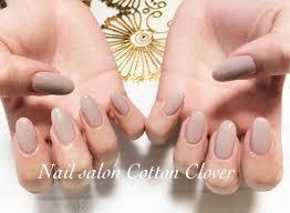 Nail Salon Cotton Cloverさんのネイルデザイン ワンカラーネイル冬