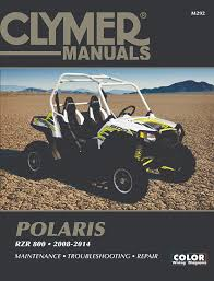 polaris rzr 800 repair manual 2008 2016