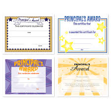 Principal Award Certificate Principal Award Certificate Kadil Carpentersdaughter Co