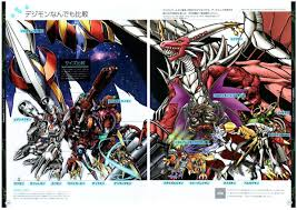 Comic Book Size Chart Digimon Tweets
