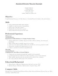 Special Skills Section Acting Resume In Sample Letsdeliver Co