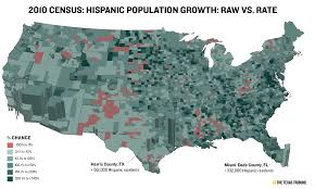 Hispanic Population Growth Chart Esri The Daily Viz