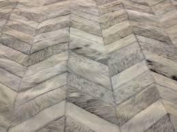 luxury patchwork cowhide rug design for elegant interior flooring