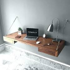 Wall mounted office desk Home Office Floating Office Desk Office Floating Shelves Impressive Luxury Bocopacanadacom Floating Office Desk Floating Wall Mounted Desk Home Office Best