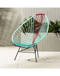 Cb2 outdoor furniture Outside Acapulco Aquared Egg Outdoor Chair By Cb2 Better Homes And Gardens Snag These Sales 29 Off Acapulco Aquared Egg Outdoor Chair By Cb2