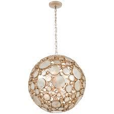 diy orb pendant light