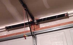 installing and adjusting garage door torsion springs tension spring