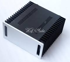 4320a all aluminum amplifier chassis diy large case audio amplifier enclosure 430mm x 200mm x 418mm