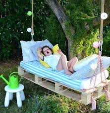 fresh pallet swing bed with back and pallet swing bed diy 72 pallet bed swing mattress