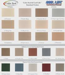 Mortex Kool Deck Color Chart Best Picture Of Chart