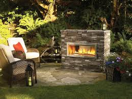 stone outdoor fireplace designs