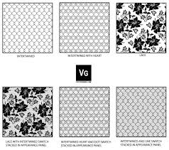 Illustrator Pattern Fill Gorgeous Lace And Mesh Pattern Swatch By Vectorgeek On DeviantArt