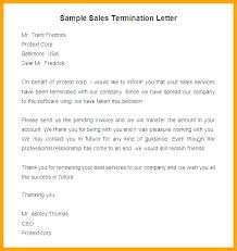 Termination Letter Description Awesome 44 Employee Termination Letter Template Free Freelance Contract End