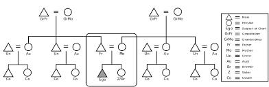 Anthropology Genealogy Chart Eskimo Kinship Wikipedia