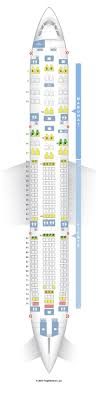 A343 Jet Seating Chart Seatguru Seat Map Philippine Airlines Airbus A340 300 343