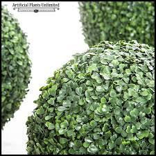Decorative Boxwood Balls Decorative Faux Boxwood Balls Exterior Artificial Plants Unlimited 16