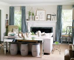Sofa Table Inspiration Styling the Console Table