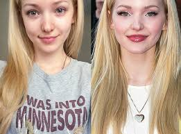 without makeup make up free stars look more star like dove cameron disney channel