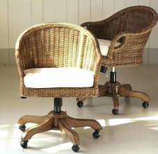rattan office chair. Rattan Desk Cool Swivel Chair For A Rustic Touch Collect This Idea . Office