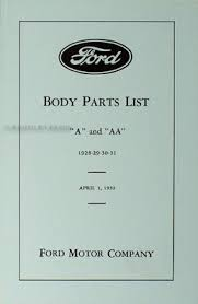 1928 1931 ford model a cowl lamps wiring diagram manual reprint 1928 1931 ford model a aa reprint body parts book car pickup truck
