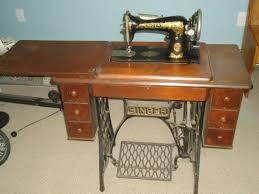 Vintage Foot Pedal Sewing Machine