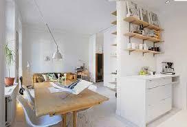 Minimalist Small Apartment Interior  Small Space