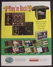 ms pacman in arcade gaming pac man ms pac man 12 more video arcade flyer