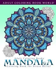 coloring books mandala coloring book for stress relief msia book